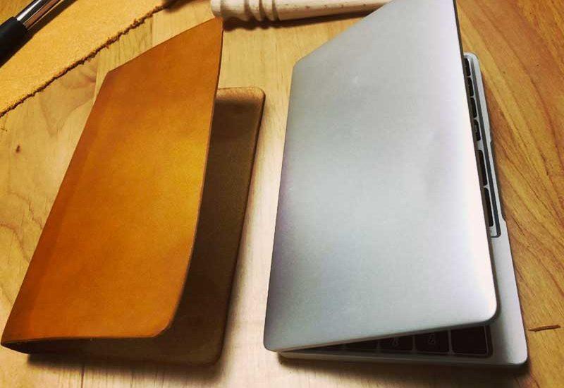 【GPD Pocket用本革カバーケースDIY】材料費500円!切って折って貼るだけで30分で完成!