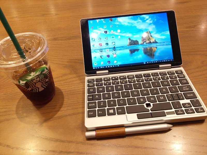 スタバでペンと一緒にノマドワーク