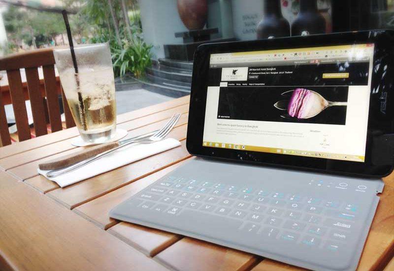 【VivoTabNote8用キーボード】薄さが命だけどタイプもできる!iPad mini用カバーがジャストサイズでおすすめ!