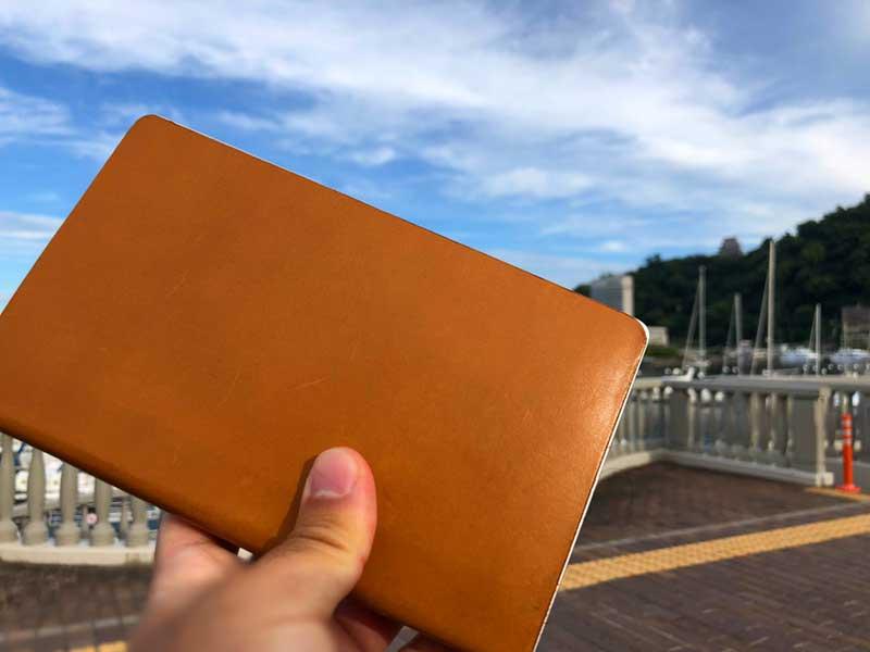 青い空と海とGPD Pocket