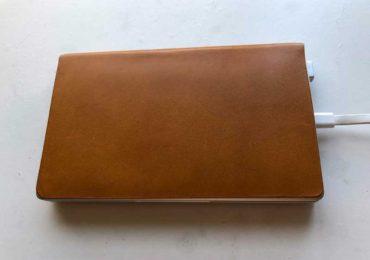 【GPD Pocketの本革カバーを自作した感想】まるで手帳か単行本!薄くてジャストサイズでモバイル性抜群!