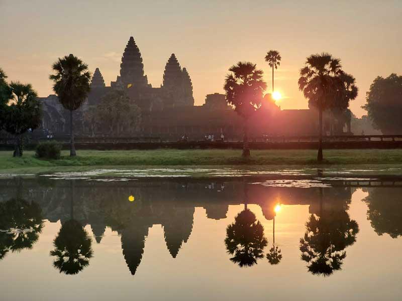 続いて周遊したカンボジア
