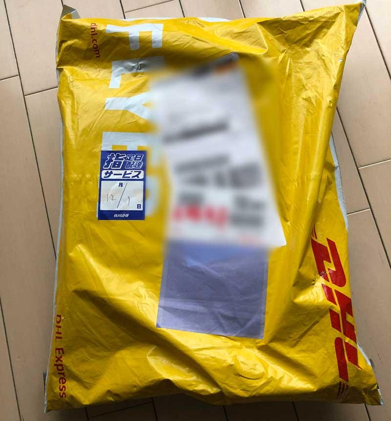 DHLで中国から届いたOneMix2s
