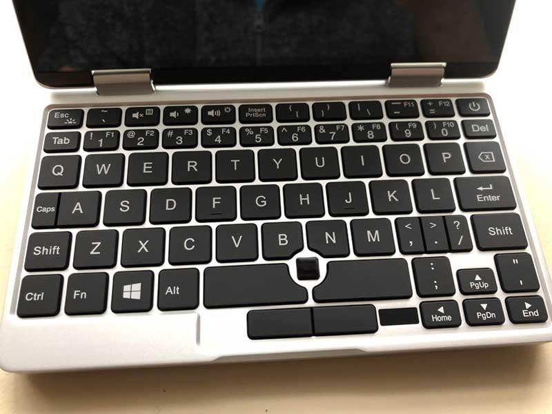 OneMix2sのキーボード配列はかなり癖がある
