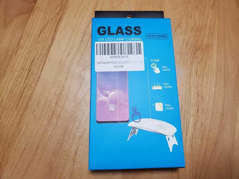 また買ってしまったGalaxyNote10+用ガラスフィルム