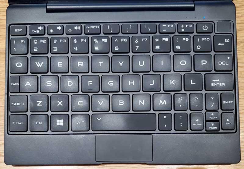 MAG1のキーボード配列