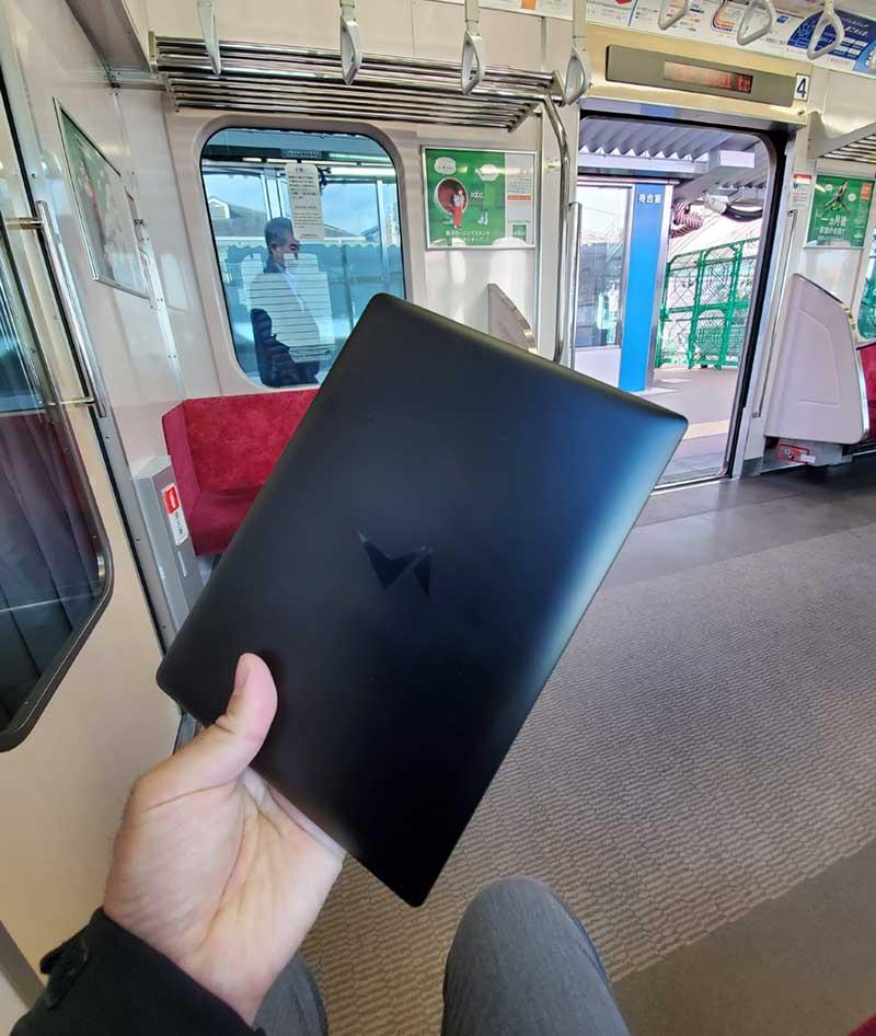 電車の中でもひょいっと使える