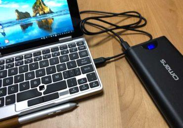 【OneMix2sで実際に使えたモバイルバッテリー2選】動作確認済の安全品がおすすめ