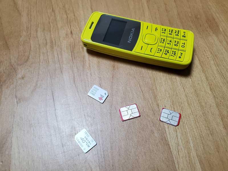 SIMを挿せば通話ができる