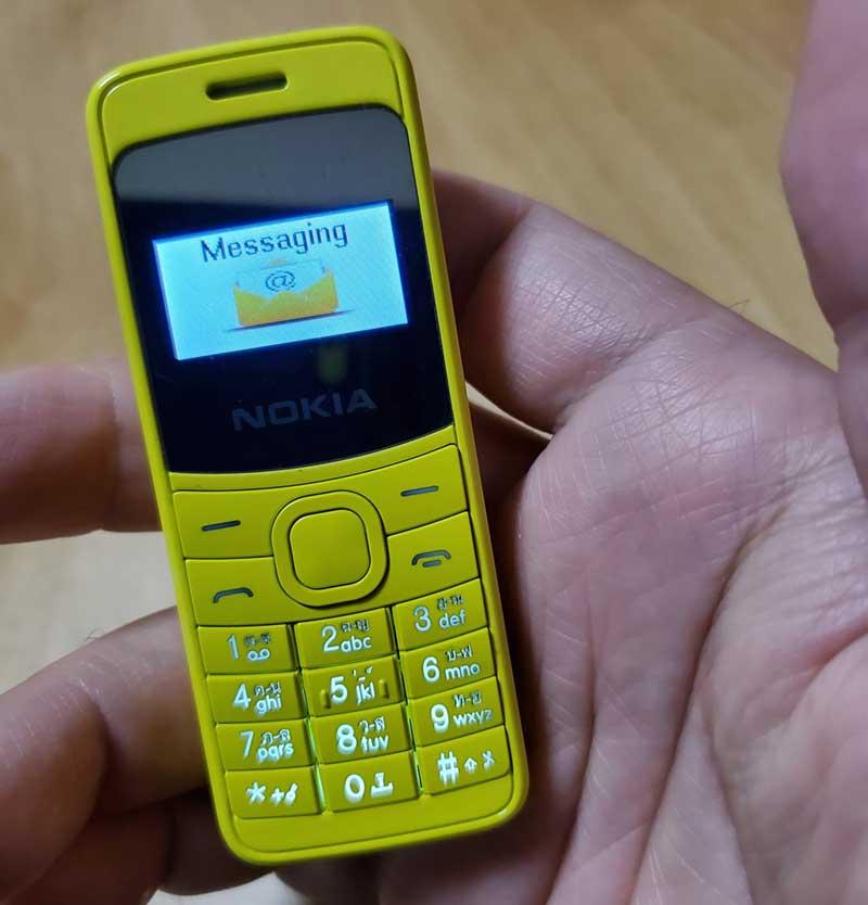 SMSの送受信