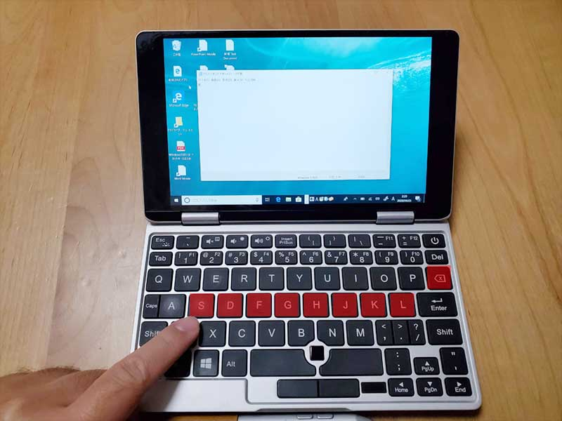 OneMix2sのキーボードが壊れた!