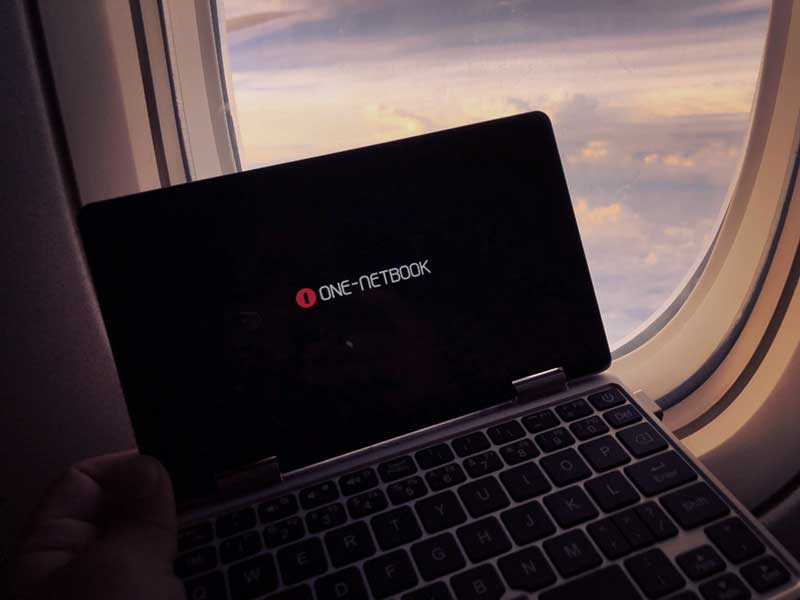 海外旅行でもOneMix2s