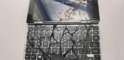 【海外中華通販の大失敗例】GeekBuyingのOneMix2sが10ヶ月で故障!ありがとう、そして文鎮へ