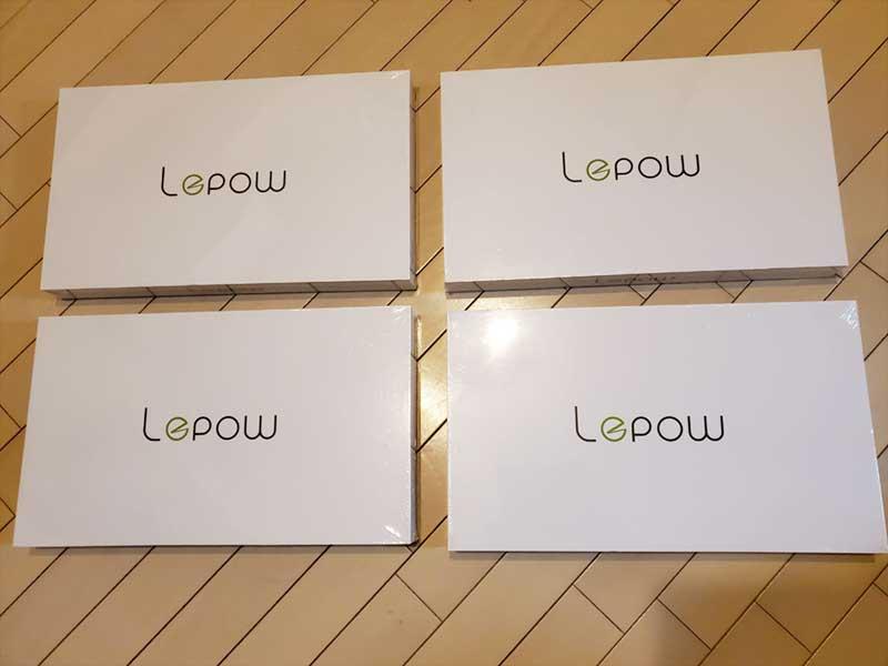 気に入ったのでLepowモバイルディスプレイ(15.6インチ)を4つ購入しちゃった