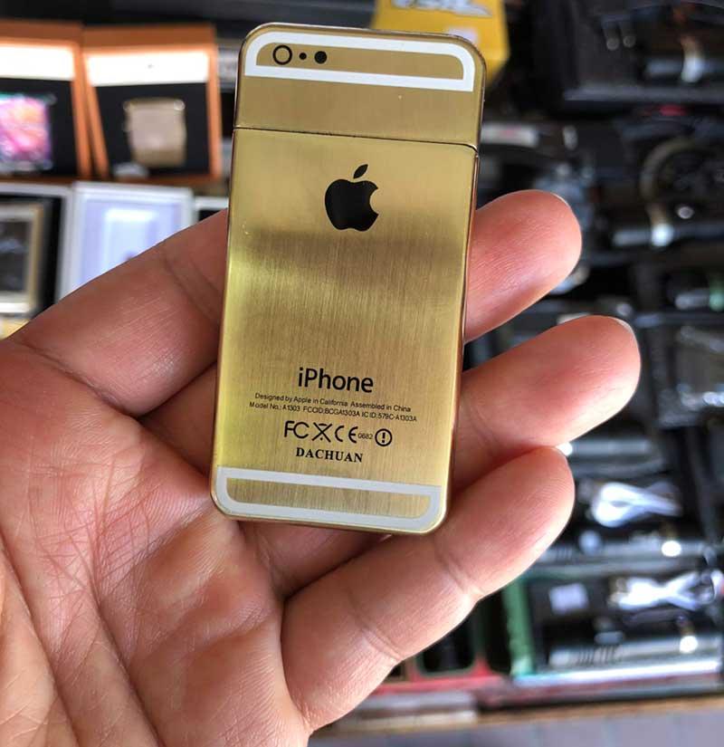 超小型のiPhoneゴールドだ!