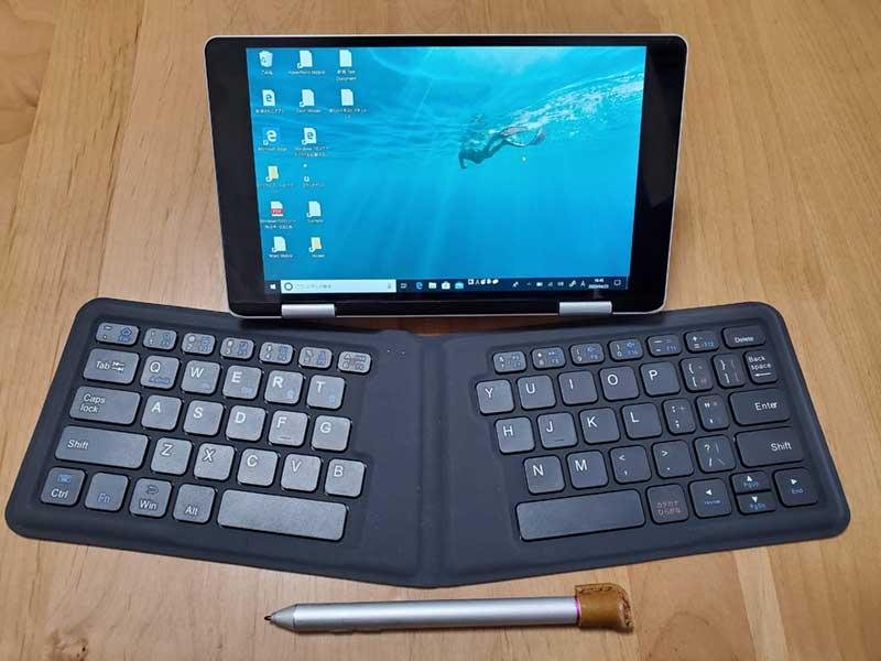 壊れたOneMix2sに外付けキーボードをつなげてみた