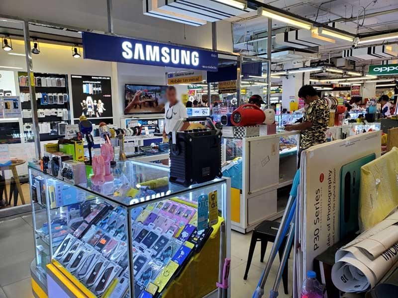 タイのSAMSUNGショップで購入しました