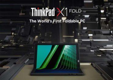 【ThinkPad X1 Fold】世界初の折りたたみノートPCが夏発売か?値段は27万円か?