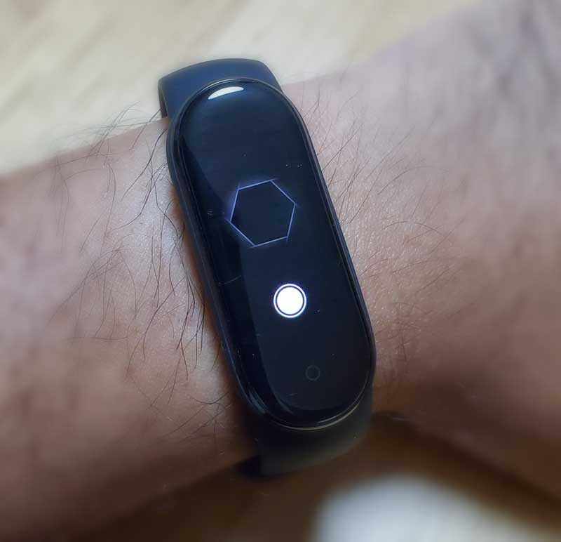 Miband5では遠隔操作でカメラのシャッターを押せる