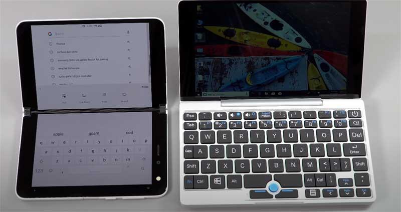 Surface DuoとUMPCの比較