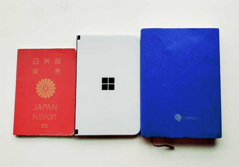 パスポート<SurfaceDuo<文庫本