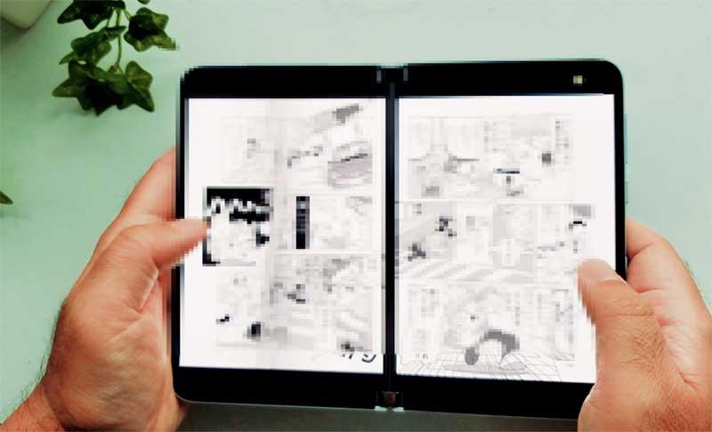 Surface Duoは最高の漫画リーダーだ!
