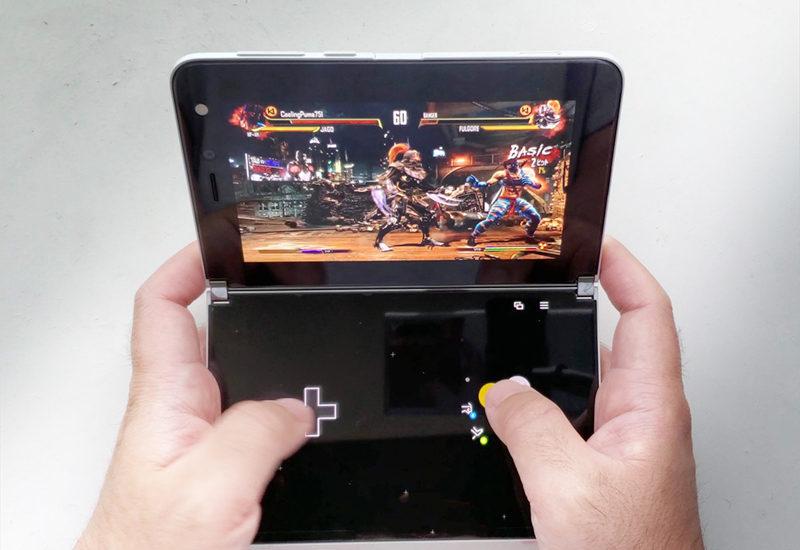 【xCloudレビュー・値下がりSurface Duoが携帯ゲーム機DSになった!】タッチ操作と上下2画面が神!エミュレーターいらず!